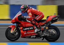 """MotoGP 2021. GP di Francia. Francesco Bagnaia: """"Con la pioggia abbiamo un buon passo"""""""