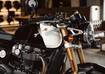 Triumph Thruxton RS in livrea specialeDistinguished Gentleman's Ride