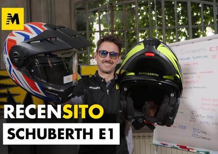 Schuberth E1. Recensione casco modulare adventure
