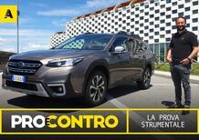 Subaru Outback, PRO e CONTRO   La pagella e tutti i numeri della prova strumentale