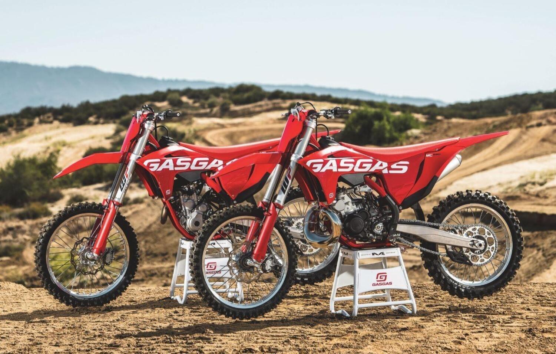 GASAGAS, tre nuove Cross nella gamma off road 2022