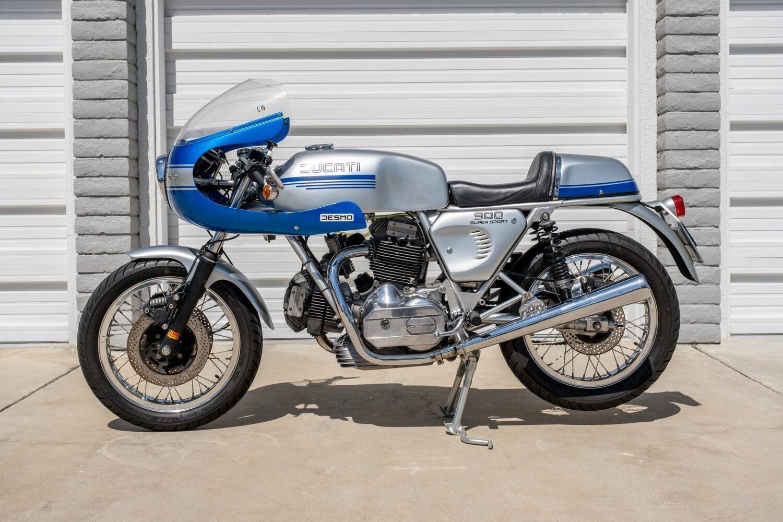 Una Ducati 900 SS del 1976 all'asta per 30.000 euro