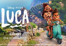 """""""Luca"""", il nuovo film Disney e l'amore per la Vespa"""
