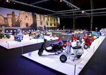 Anche l'Autoworld di Bruxelles celebra i 75 anni di Vespa