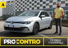 Volkswagen Golf 8, PRO e CONTRO   La pagella e tutti i numeri della prova strumentale