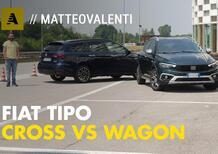 Tipo Cross vs Tipo Wagon: quale Fiat 2021 scegliere? Comparativa strumentale [Video]