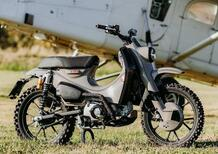 """Honda Super Cub 125X MANN. Versione """"audace"""" da gara"""