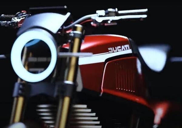 Ducati 860-E. La moto elettrica di Borgo Panigale secondo Italdesign