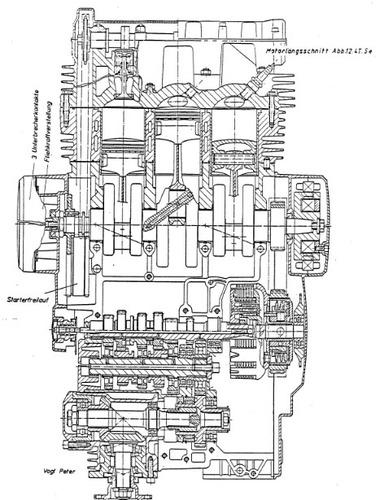 Nella seconda metà degli anni Settanta la Yamaha ha realizzato una tricilindrica di 750 cm3 (successivamente portati a 850) con distribuzione bialbero e trasmissione finale cardanica