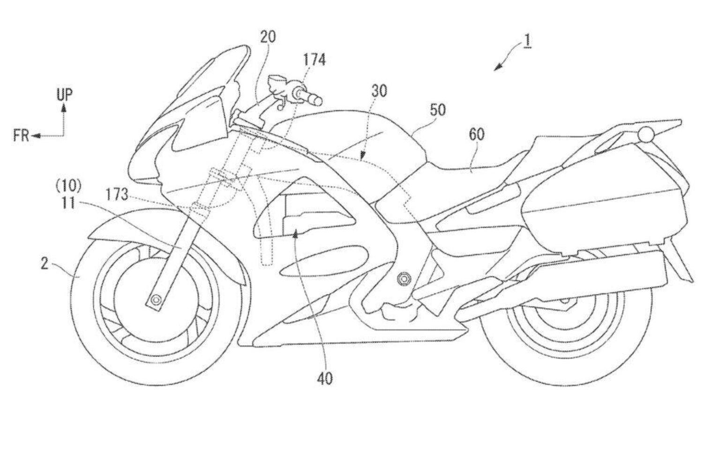 Un Brevetto Honda per il controllo dello sterzo in caso di incidente