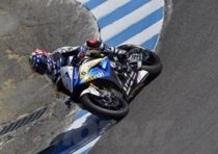 Melandri è il più veloce del venerdì a Laguna Seca