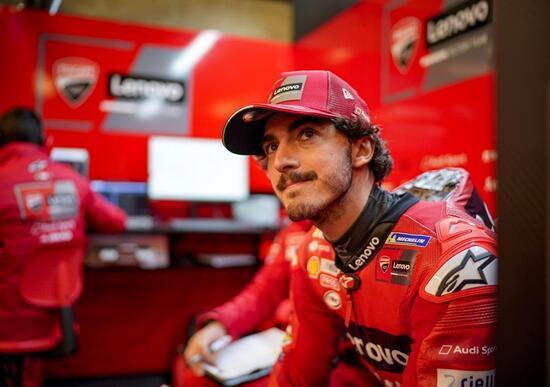 MotoGP 2021. GP d'Austria al Red Bull Ring. Francesco Bagnaia: Michelin si è scusata con me