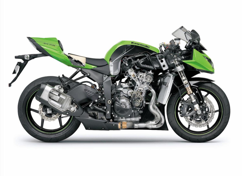 Le Kawasaki 600 e 1000 di serie e vincenti in pista