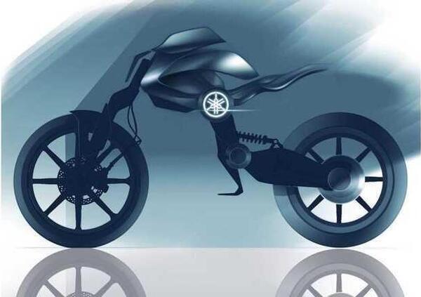 Yamaha Double Y: da una tesi IAAD, una moto facile, elegante e innovativa