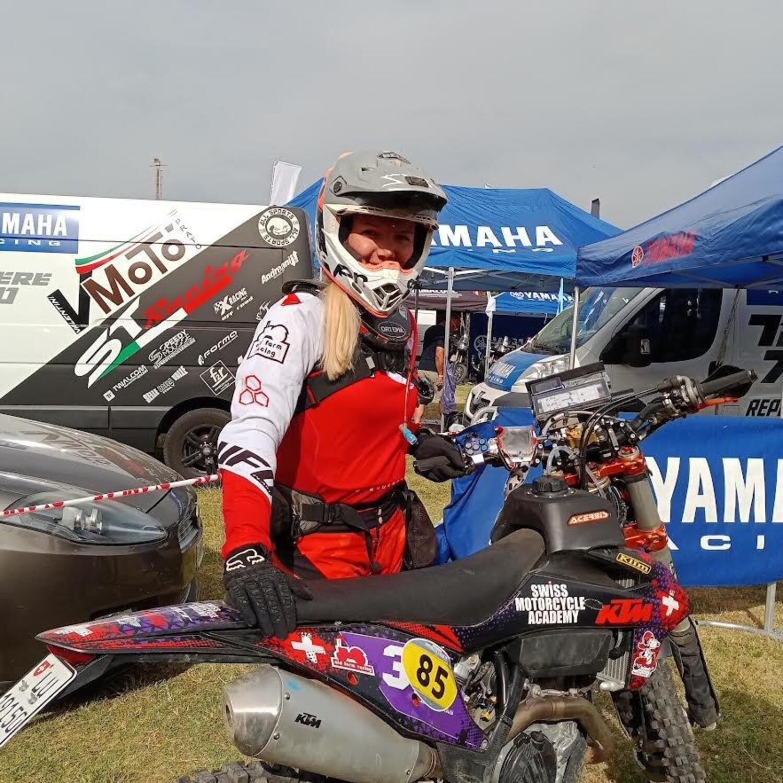 Jasmin Riccius, la nuova stella del Motorally