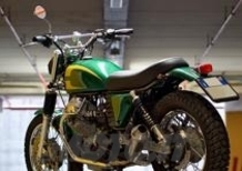 Moto Guzzi Nevada by Rossopuro. Quasi