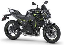 Kawasaki Z650 e Z650 Performance 2022: tre nuove colorazioni