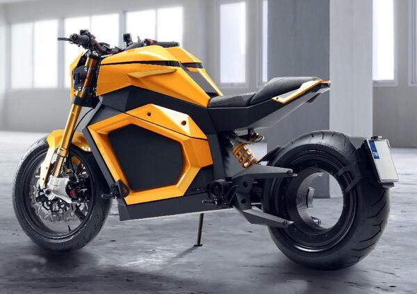 Verge TS. E in vendita la moto elettrica senza mozzo