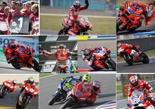 MotoGP: ecco i dieci vincitori della Ducati