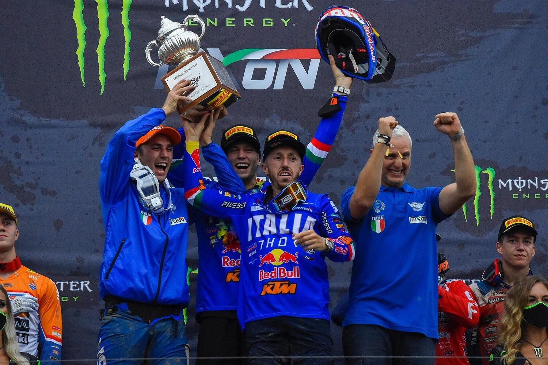 Una strepitosa Italia conquista il Motocross delle Nazioni