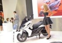 EICMA 2013: Kymco Agility 125-200i R16 Plus
