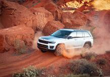 Nuova Jeep Grand Cherokee, ora è anche ibrida
