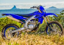 Yamaha WR250F e WR450F 2022. Cambiano così le due enduro