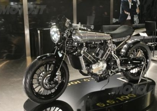 EICMA 2013: Brough Superior SS100