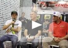 Tony Cairoli, Alex Salvini e Gio Sala: intervista allo stand di Moto.it