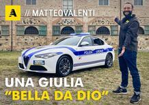 Tutti i segreti della nuova Alfa Romeo Giulia della Polizia Locale by Bertazzoni [Video]