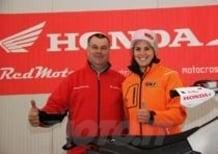 RedMoto consegna la Honda CRF Rally a Laia Sanz