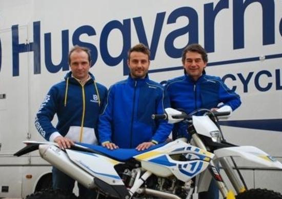 Enduro: Monni con Husqvarna nel Team RS Moto di Simone Agazzi