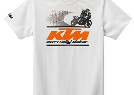 KTM Powerweare Flash Colection: la t-shirt della Dakar