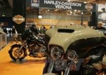 Motor Bike Expo 2014. Harley-Davidson con tutta la gamma moto e l'abbigliamento