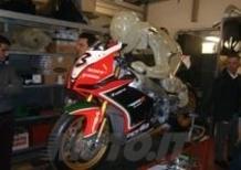 Reparto Corse Aprilia, dove nascono SBK e MotoGP