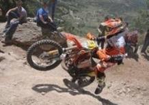 Trofeo Enduro KTM, terza prova. A Cala Gonone tirano le pietre