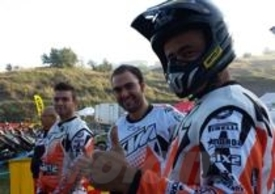 Il nostro Perfetti sarà in gara anche nel 2014 per raccontarvi le tappe del Trofeo KTM
