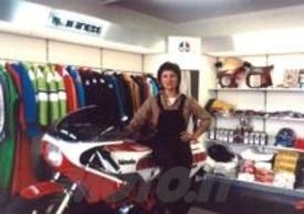 1984 - Valesca: il primo Corner VALERISPORT a Montebelluna (TV)