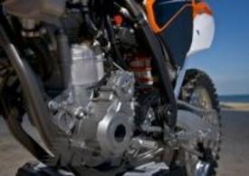 Il nuovo propulsore derivato dalla 350 4T è stato applicato anche sulla gamma enduro