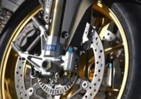 Il nuovo avantreno della RSV4 2013 ABS