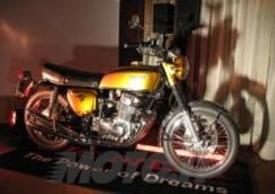 La prima Honda CB 750 Four del'69