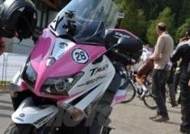 T-Max Yamaha griffato Giro d'Italia