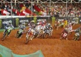 Partenza MX1, qualifiche GP del Brasile 2012