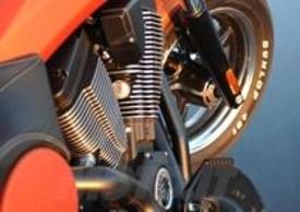 Un dettaglio del poderoso motore