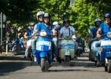 Iniziati a Mantova i Vespa World Days: 4.000 le Vespa