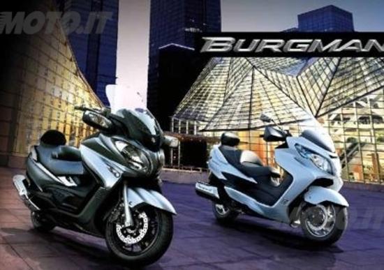 Promozioni Suzuki, Burgman 400 e 650 con garanzia di 48 mesi e Finanziamento a TAN 0%