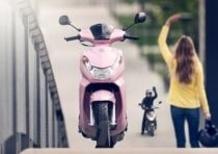 Peugeot Kisbee 50 4T, nuova colorazione Candy Pink