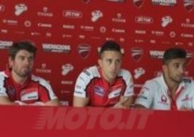 Formazione invariata per il Team Ducati MotoGP 2015