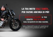 Fino a 1.000 euro di supervalutazione per chi sceglie Suzuki