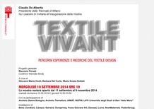 Dainese Textile Vivant, in Triennale dall'11 settembre al 9 novembre